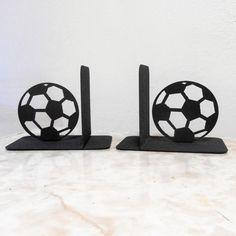 Football / serre-livres en métal / jeux vidéo / par Just4theArtofit