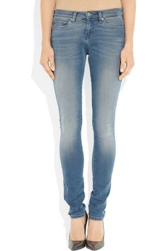 Ksubi|Low-rise leggings-style jeans|NET-A-PORTER.COM