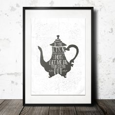 ♥IF YOU LIKE YOUR COFFEE HOT LET ME BE YOUR  ♥ von InkDrip auf DaWanda.com