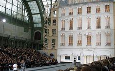Chanel show set