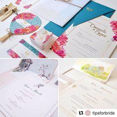 Vocês já conhecem a técnica da aquarela para convites? Conversamos com a Susana Fujita (@susanafujita), designer que desenvolveu a técnica há alguns anos e vem conquistando cada vez mais noivinhas apaixonadas pela arte tão delicada e personalizada de expressar o amor e a história do casal. Confira no blog algumas dicas, além de lindíssimas inspirações!  #tipsforbride #convitedecasamento #aquarela #susanafujita #papelariapersonalizada