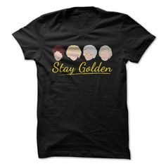 Stay golden with this great design! If you love the Golden Girls and all the amazing values of friendship they possess, show it off with this hilarious t-shirt and hoodie!