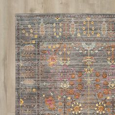 You'll love the Ziraoui Grey Area Rug at Wayfair - Great Deals on all Décor products with Free Shipping on most stuff, even the big stuff.