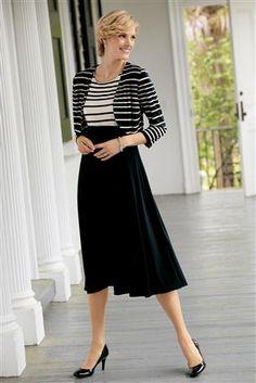 Striped Bolero Jacketdress