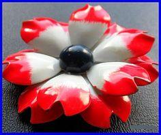 Vintage 1950s Red White Blue Patriotic by BrightgemsTreasures, $12.50