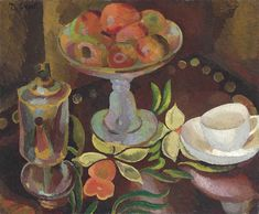 View Still life with cup on a tray by Duncan Grant on artnet. Browse upcoming and past auction lots by Duncan Grant. Dora Carrington, Duncan Grant, Vanessa Bell, Virginia Woolf, Still Life Fruit, Smart Art, Magazine Art, British Museum, Beautiful Paintings