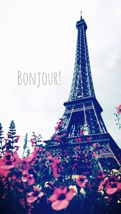 Find images and videos about flowers, paris and france on We Heart It - the app to get lost in what you love. Tour Eiffel, Paris Torre Eiffel, Paris Eiffel Tower, Cute Wallpapers, Wallpaper Backgrounds, Iphone Wallpaper, Beautiful Paris, I Love Paris, Paris Wallpaper