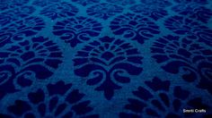 1 Yard Royal Blue Block print fabric  pure cotton from Jaipur India. $12.00, via Etsy.