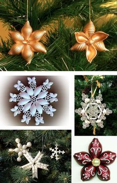 Let's Do the Blizzard's Work: Interior Snowflakes Ideas in All Techniques, фото № 3 Handmade Christmas Crafts, Christmas Ornament Crafts, Christmas Crafts For Kids, Christmas Projects, Christmas Greetings, Kids Christmas, Holiday Crafts, Pasta Crafts, Printable Christmas Cards
