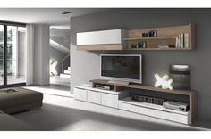 Un modular de #salon: el alma de la estancia   #decoracion #diseño