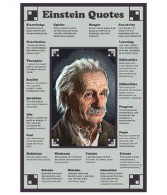 Image result for wisdom of albert einstein poster