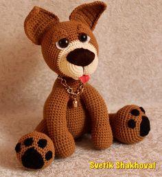 GIRLS'n'DOLLS (Игрушки, красота, творчество) | VK Crochet Dog Patterns, Amigurumi Patterns, Doll Patterns, Crochet For Kids, Crochet Baby, Toy Puppies, Knitted Animals, Amigurumi Toys, Crochet Dolls