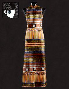 70s 'Lanvin - Paris' dress.