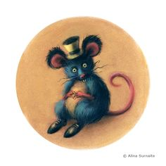 Mr Mad Mouse has a weird habit of collecting clothing and accessories from toys, which he then uses during his performances to other mice. After a busy and tiring day, Mr Mad Mouse can relax in an old dollhouse with a glass of wine and a chunk of mature Cheddar cheese.