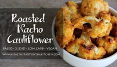 Roasted Nacho Cauliflower