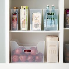 RV Kitchen Storage can be a challenge in your tiny RV kitchen, even for just a weekend! This post has some great tips on how to make the most of limited space while working towards RV living. Pantry Storage, Storage Containers, Kitchen Storage, Camper Storage, Storage Bins, Storage Solutions, Storage Ideas, Organizing Solutions, Pantry Shelving