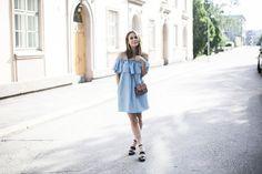 The Richness of Life Shoulder Dress, Shirt Dress, Blog, Shirts, Life, Dresses, Fashion, Vestidos, Moda