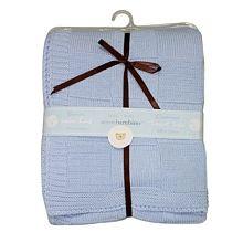 Piccolo Bambino - Couverture en tricot pour bleue - 24.99$ Baby-R-Us