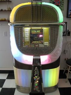 1946 AMI 'Model A' #music #jukebox #records http://www.pinterest.com/TheHitman14/ghosts-of-audios-past/