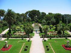 Botanical Garden of The Villa Ephrussi de Rothschild, Saint-Jean-Cap-Ferrat, Cote d'Azur