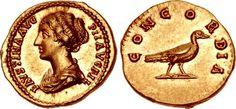 Faustina Junior. Augusta, AD 147-175. AV Aureus (19mm, 7.29 g, 6h). Rome mint. Struck under Antoninus Pius, circa AD 147-150.