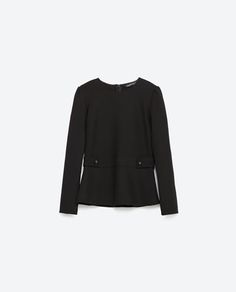 Image 8 of EPAULETTE TOP from Zara