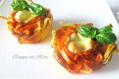Rezepte mit Herz ♥: Nudelmuffins