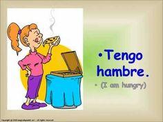 "MOODS AND FEELINGS IN SPANISH. EXPRESSIONS WITH ""TO HAVE"". ESTADOS DE ÁNIMO Y SENTIMIENTOS. - YouTube"