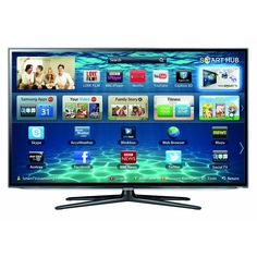 Samsung 50-inch 3D Smart LED TV UE50ES6300 Full HD 1080p with Wi-Fi built-in and Freeview HD - 2 x glasses included