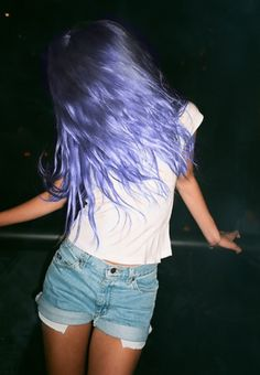 fanning the flames of the purple hair desire