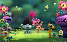 Happy #Trolls dancing in the woods :]