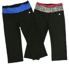 Bally Total Fitness Tummy Control Yoga Capri « Clothing Impulse