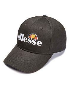 Sports Caps, Ellesse, Snapback Cap, Sportswear, Baseball Hats, Black, Style, Cap, Swag
