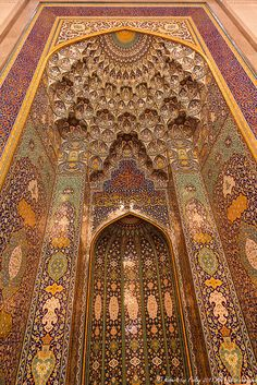 The Sultan Qaboos Grand Mosque by FreeBirdUK, via Flickr