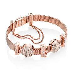 4c265acdcabf Finished Reflexions Pandora Bracelet - Rose Gold  89 for sale
