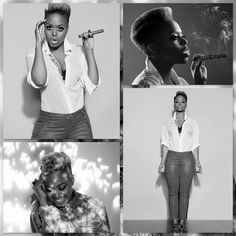 TWA Hairstyles #NaturalHair Chrisette