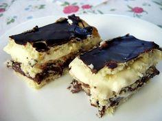 Hungarian Recipes, Hungarian Food, Recipes From Heaven, Tiramisu, Food And Drink, Pudding, Sweets, Cookies, Baking