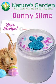 Free Bunny Slime Recipe by Natures Garden
