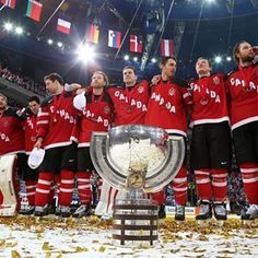 Canada beats Russia - wins Gold at Worlds 2015!!! So proud of my boyss!!