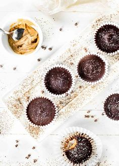 How to make them in just 4 easy steps and teaching how to make from scratch chocolate. Hello Healthy Peanut Butter Cups!#gluten-free#vegan Vegan Chocolate, Chocolate Desserts, Homemade Peanut Butter Cups, Cupcakes, Dairy Free, Gluten Free, How To Make Homemade, Low Sugar, Quick Easy Meals