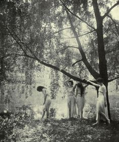 """""""Summer"""" posed by the Marion Morgan dancers 