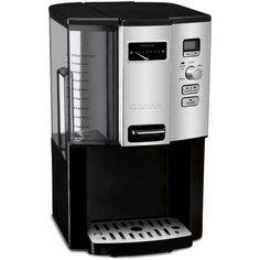 Cuisinart - Programmable Coffee Maker - Dispenses one cup at a time with an easy-to-use actuator. Removable coffee reservoir for easy cleanup. Fully programmable with advance brew start. Coffee Maker Reviews, Best Coffee Maker, Drip Coffee Maker, Coffee Cups, Hot Coffee, Coffee Percolator, Coffee Grinders, Coffee Beans, Coffee Dispenser