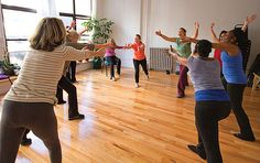 Dancing is healing! This class is using movement to counter the side effects of cancer.