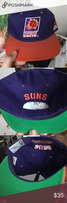 Phoenix Suns vintage SnapBack Rare! Price negotiable Vintage Accessories Hats