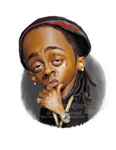 Lil' Wayne by Rocky J Sawyer