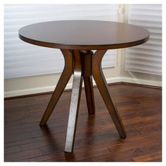 The Christopher Knight Home Tehama round wood dining table gives your home a cozy feel. Featuring a sturdy construction and natural wood blend, this table is ideally suited for the traditional home dining setting.