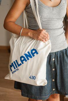 Bolso de tela Milana Bonita | LolaCamisetas