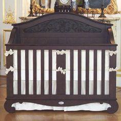 Chelsea Lifetime Crib in Antique Espresso