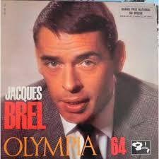 JACQUES BREL  - Brel En Public a l'Olympia 64