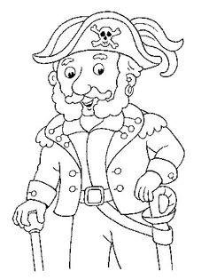 Free Coloring Pages: Pirates Pirate Preschool, Pirate Activities, Pirate Day, Pirate Theme, Coloring For Kids, Adult Coloring, Pirate Scavenger Hunts, Summer Crafts For Kids, Kids Crafts